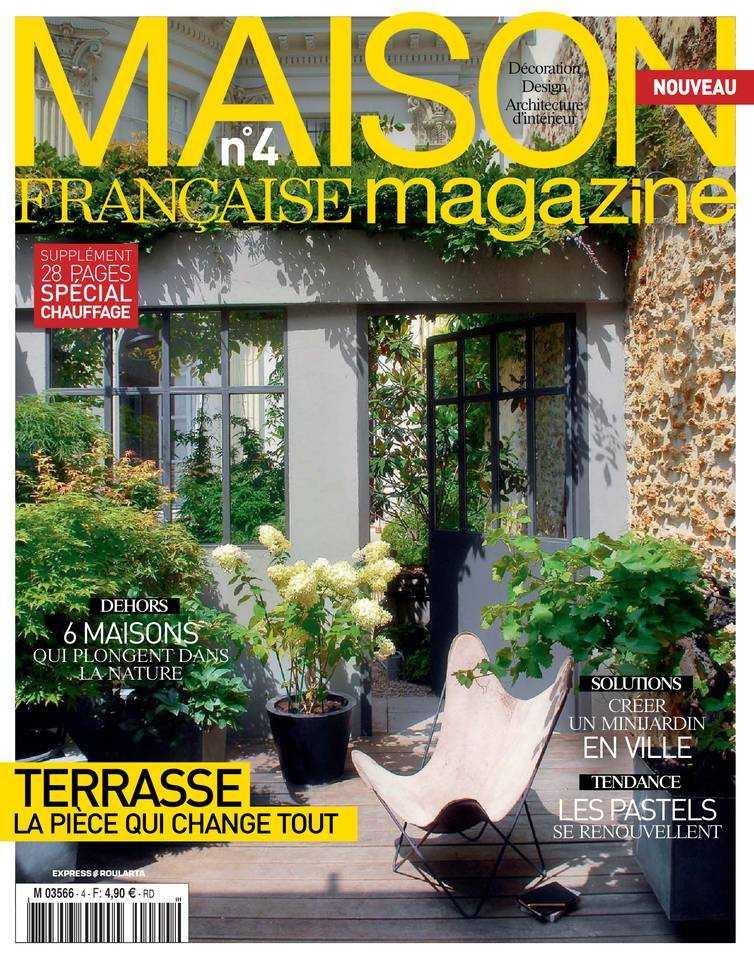 maison fran aise magazine le vert soi. Black Bedroom Furniture Sets. Home Design Ideas